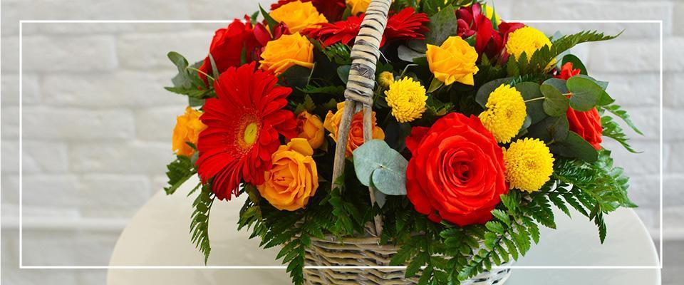 Koszyk kwiatów